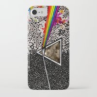 dark side of the moon iPhone & iPod Cases featuring Dark Side of the Moon by Luciana Pupo