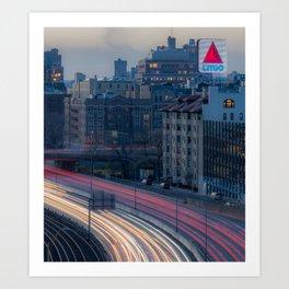 Kenmore View Art Print