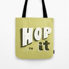 Hop To It Tote Bag