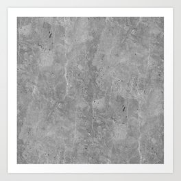 Simply Concrete II Art Print
