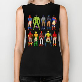 Superhero Butts Biker Tank
