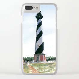 Hatteras #3 Clear iPhone Case