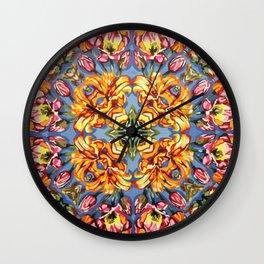 Floral I  Wall Clock