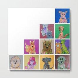 Creative Pups Metal Print