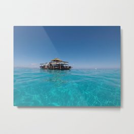 The middle of the ocean Metal Print
