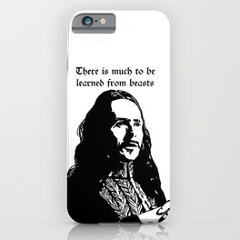 There is much to be learned from beasts iPhone Case
