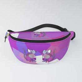 Crystal Cat - Lavender Fanny Pack