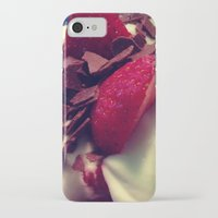 dessert iPhone & iPod Cases featuring dessert by MissCreARTiv