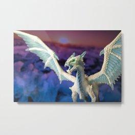 Ice Dragon 4 Metal Print