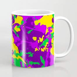 Mardi Gras Cajun Camo Coffee Mug