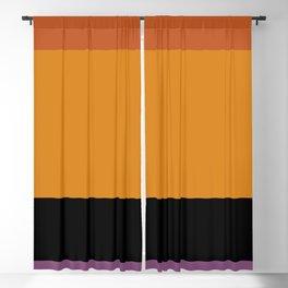 Contemporary Color Block I Blackout Curtain