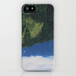 mountains love you iPhone Case