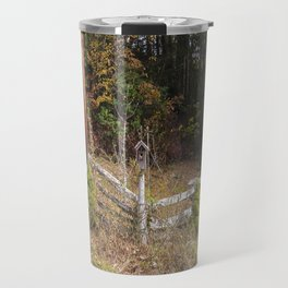 Three bird houses  Travel Mug