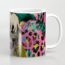 Skull & Cats Coffee Mug