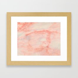Dramaqueen - Pink Marble Poster Framed Art Print
