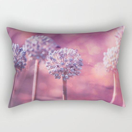 Delicate Morning Rectangular Pillow