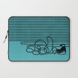 Unravel (in Blue) Laptop Sleeve