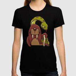 The Walrus and the Anaconda T-shirt