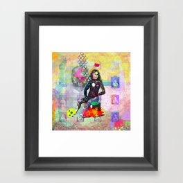 You can be dead to me now Framed Art Print