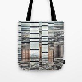 Coded Terrain Tote Bag