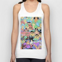 it crowd Tank Tops featuring Crowd by Joseph Falzon