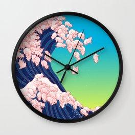 Piglets Waves Wall Clock