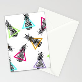 Pineapples & Triangles Stationery Cards