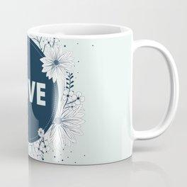 flower pillow love letter Coffee Mug