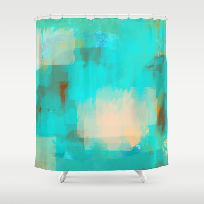 2 Sided World Shower Curtain