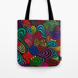 Waves of Freedom #Z Tote Bag
