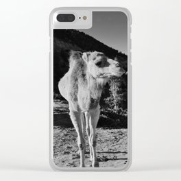 Moroccan Countryside Clear iPhone Case
