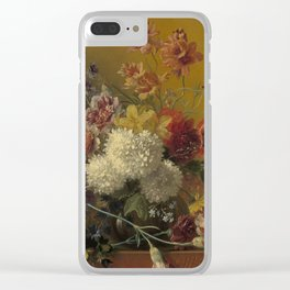 Georgius Jacobus Johannes van Os - Still life with flowers - 1820-1861 Clear iPhone Case
