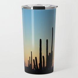 Sunset Cacti 2 Travel Mug