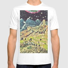 Layers Mens Fitted Tee MEDIUM White