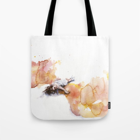 take off in flight Tote Bag