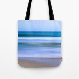 Abstract Ocean Waves Tote Bag