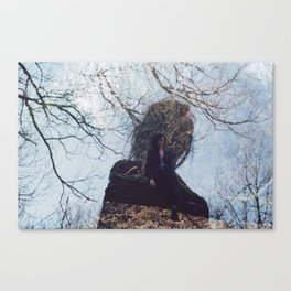 Double Exposure Canvas Print