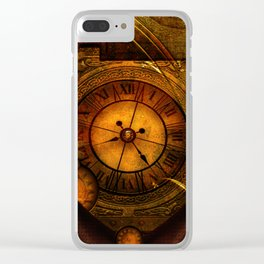 Awesome noble steampunk design Clear iPhone Case