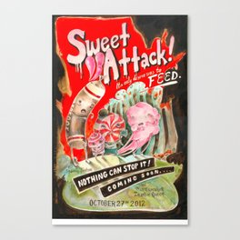 Sweet Attack! Canvas Print