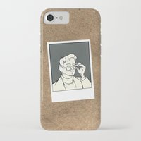 iron giant iPhone & iPod Cases featuring The Iron Giant - Dean McCoppin by Petia Koteva