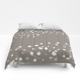 Dappled Hide in Taupe Comforters
