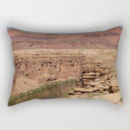 Colorado_River - Marble_Canyon II, Arizona Rectangular Pillow