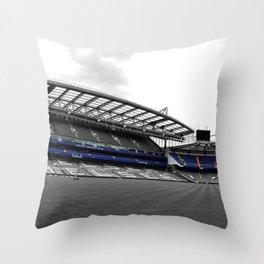Chelsea Stamford Bridge West Stand Throw Pillow