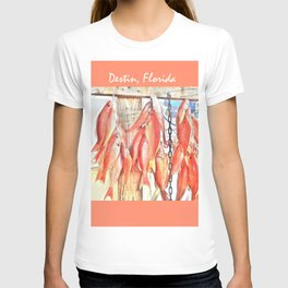 Redfish- Destin Florida T-shirt