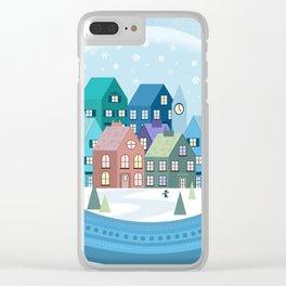 Snowglobe Clear iPhone Case
