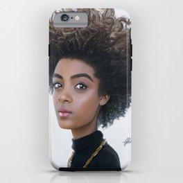 Black n Blue iPhone Case