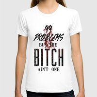 2pac T-shirts featuring 99 problems by Gold Blood