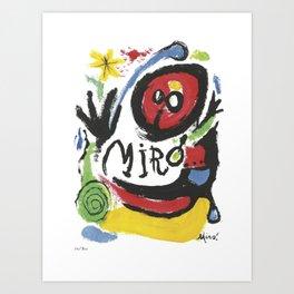 Joan Miró Tres Livres 1957 Artwork for Prints Posters Tshirts Bags Women Men Art Print