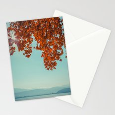 Autumn lights and summer serenity Stationery Cards