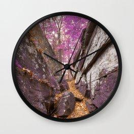 Gettysburg Grotto - Lavender Fantasy Wall Clock